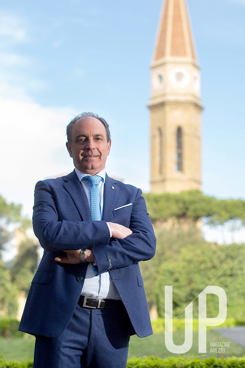 Saverio Luzzi, ex presidente del Lions Club Host Arezzo