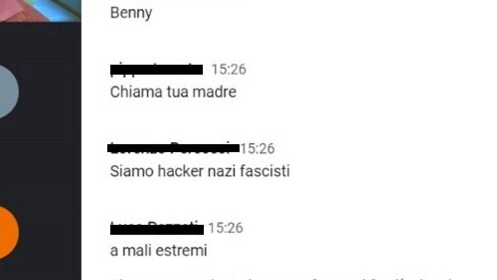 chat nazifascista evento memoria-2