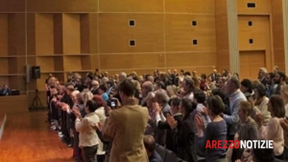 gli aretini accolgono con entusiasmo la meditazione al centro congressi-2
