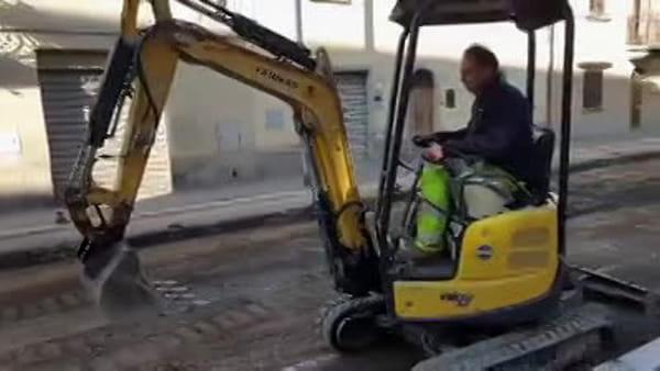 """Via della Chimera """"work in progress"""". Continuano i lavori di asfaltatura in città: ecco dove"""