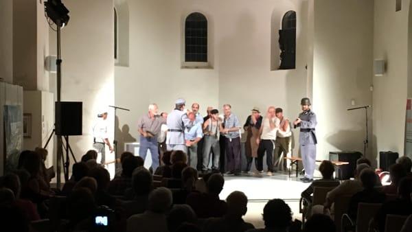 Cavriglia, il dramma popolare sugli eccidi nazifascisti in scena al teatro comunale