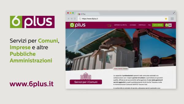 6Plus: il nuovo sito di Sei Toscana per tutti i servizi opzionali per Comuni e imprese