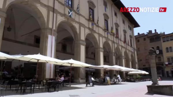 """Logge Vasari: stop ai lavori di restauro, Gamurrini: """"Riprenderemo dopo la Giostra"""""""