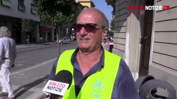 """""""Incivile chi sosta sulla ciclabile del Rossellino"""". Gli Amici della Bici al lavoro per una mobilità più green"""