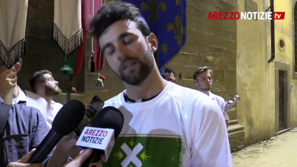 """Emozione biancoverde. La dedica del figlio a Piero Bruni: """"Avrei voluto babbo qui per vedermi vincere"""""""