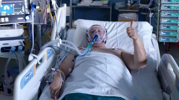 """Ero sano, in 48 ore sono finito in terapia intensiva"""", la lotta contro il  Covid di Pacielli. """"Proteggetevi e fate attenzione"""""""