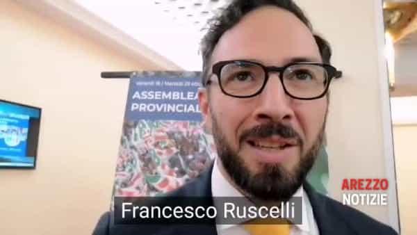 """Ruscelli proclamato segretario provinciale del Pd. Orlando: """"Al lavoro per riconquistare Arezzo"""""""