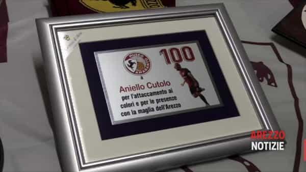 """Cutolo nel club dei centenari: """"Vorrei chiudere la carriera ad Arezzo"""". E adesso punta alla classifica marcatori"""