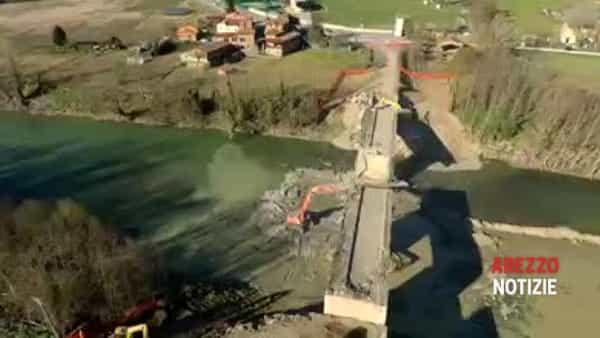 VIDEO   Via alla demolizione del Ponte Catolfi