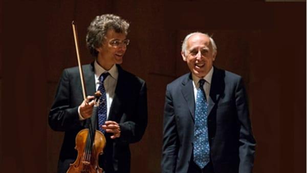 Bruno Canino e Paolo Ardinghi  in concerto