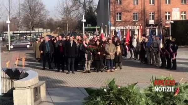 """Arezzo a Oswiecim per la Giornata della Memoria, Ghinelli: """"Cultura e conoscenza per non dimenticare la Shoah"""""""