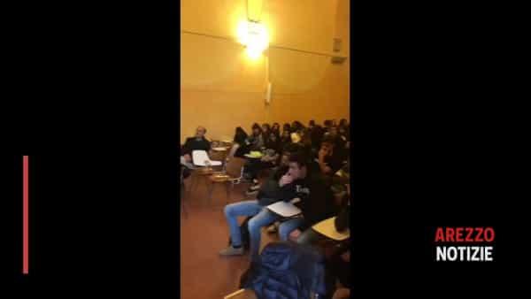 Jacopo Fo incontra gli studenti del Fossombroni per parlare di autocura energetica