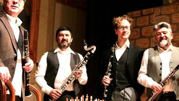 """Torna Pieve Classica con il """"Quartetto italiano clarinetti"""""""