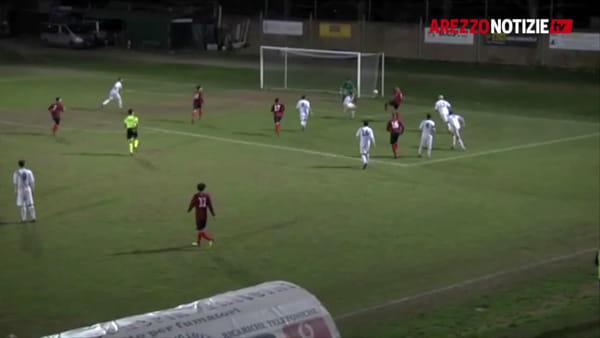La Coppa Chimera è rossoblù: il Cavriglia supera di misura la Sangiustinese (1-0)