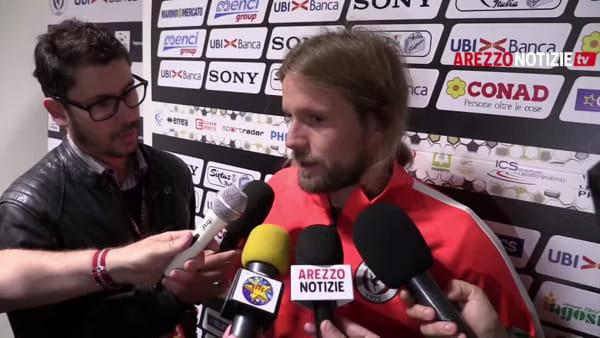 """Arezzo-Monza 0-4, Sereni: """"Resettiamo tutto e ripartiamo"""""""