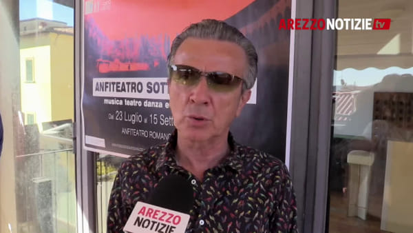 """Pupo festeggia i 40 anni di """"Su di noi"""" con un concerto ad Arezzo: """"è come se fosse il primo"""""""