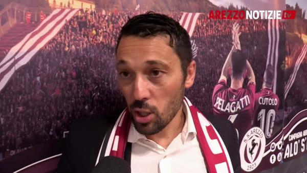 """""""Sono qui per migliorare il risultato di anno scorso"""". L'ambizione e l'emozione di Di Donato per l'Arezzo"""
