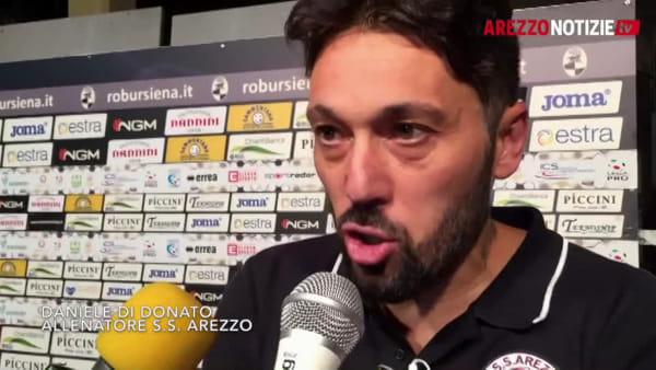 """Siena-Arezzo 1-1, Di Donato: """"Siamo rinati. Oggi meritavamo i tre punti"""""""