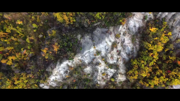 Chiusi della Verna a volo d'uccello. La foresta sacra, il santuario e la magia del Casentino