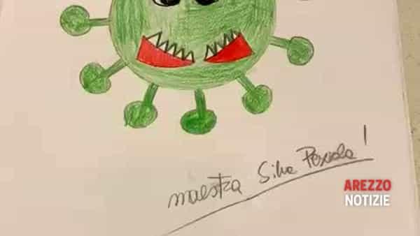 VIDEO | La storia a disegni di Corona Virus della maestra Silvia