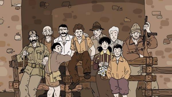 Pian d'Albero: una graphic novel che parla di Resistenza e coraggio. L'albo online