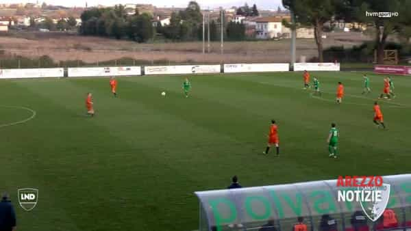 VIDEO | Sansovino-Rassina 3-2: l'eurogol di Testi