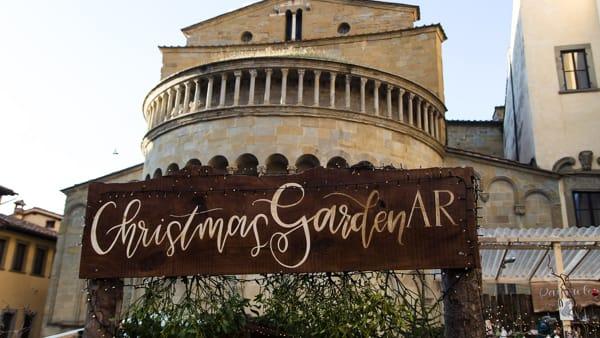 Il grande giardino di Natale in Piazza Grande