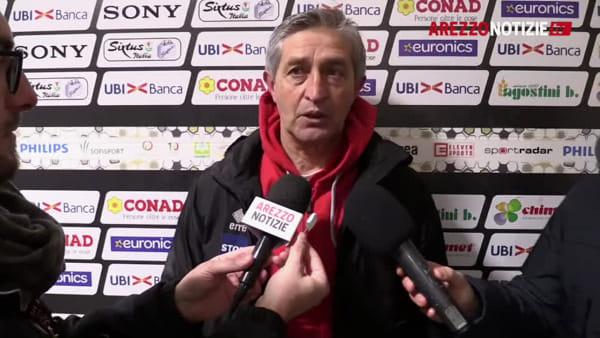 """Arezzo-Pianese 0-0, Masi: """"Per noi è un buon punto"""""""