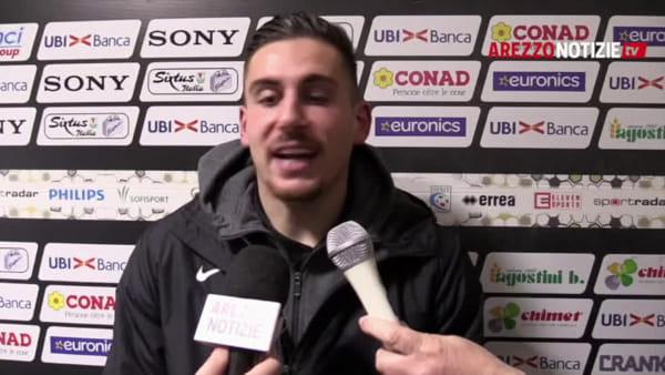 """Arezzo-Pergolettese 3-0, Pissardo: """"Su Bortoluz intervento dettato dall'istinto. Ci volevano i tre punti"""""""
