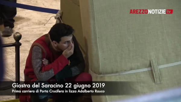 """Giostra: la prima carriera di Crucifera, il cinque mancato di Rauco e il """"polvarone"""" rossoverde"""