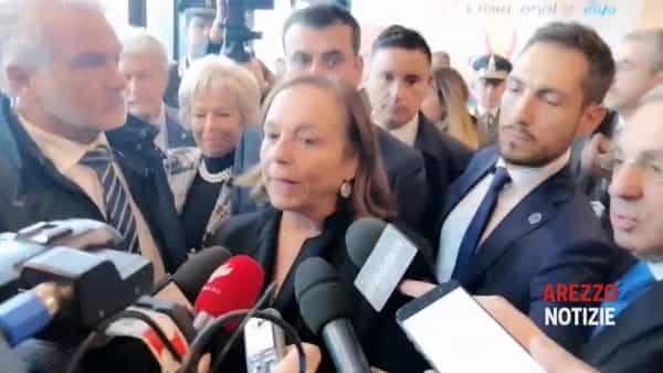 """Anci 2019. I ministri Lamorgese e Boccia al PalaAffari: """"Investiamo sulla sicurezza e difesa del suolo"""""""