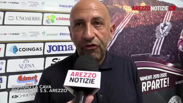 """ACF e SS Arezzo, futuro insieme. La Cava: """"Accordo possibile"""""""