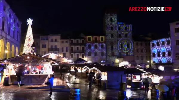 """""""Arezzo, che fascino"""". A spasso per La Città del Natale"""