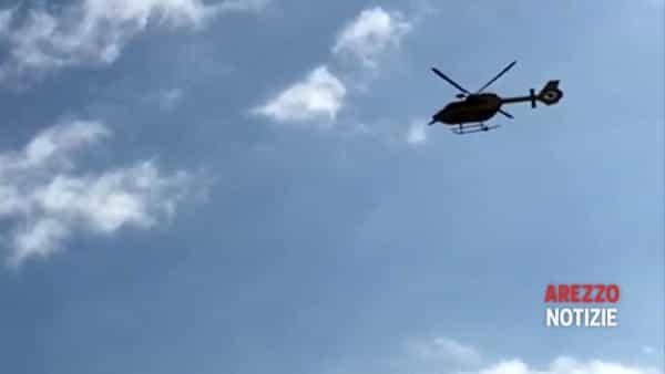 VIDEO | Il Pegaso atterra nella collina di Staggiano