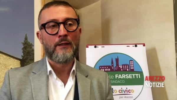 """""""Qui per mettermi in gioco"""". Daniele Farsetti candidato sindaco per Arezzo: ecco Patto Civico"""