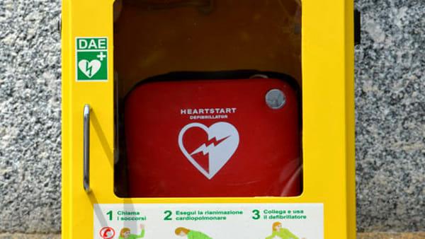 Un defibrillatore alla Croce bianca in memoria di Giancarlo Fabrizi