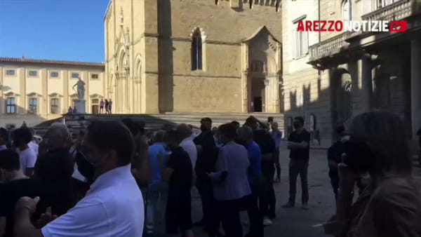 """Elezioni 2020. Salvini ad Arezzo: """"La magistratura lasci che il sindaco continui a fare il suo lavoro"""""""