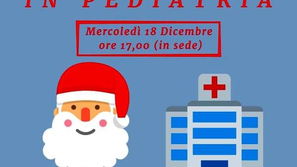 Babbo Natale in pediatria con la Misericordia di Arezzo
