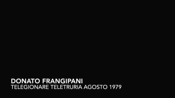 """""""Quella volta che Frangipani lesse al tg di quando salvai una bambina"""", il ricordo di Ricciarini"""