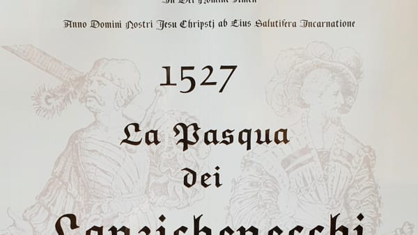 """Presentazione del libro di Augusto Agostini: """"La Pasqua dei Lanzichenecchi"""""""