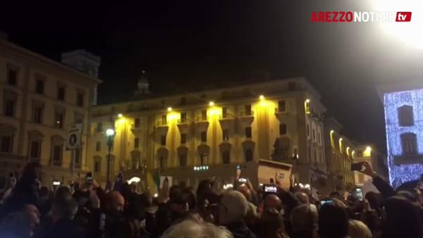 """Le Sardine (aretine e non) invadono Firenze: """"Siamo 40mila e diciamo che la Toscana non si Lega"""""""