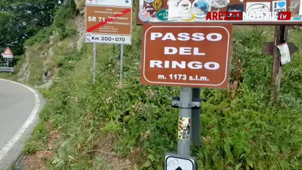 Il Passo dei Mandrioli diventa quello Del Ringo. L'anonimo omaggio al biker subbianese