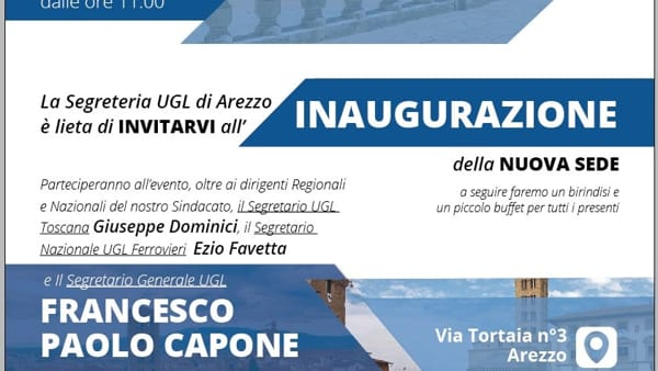 Inaugurazione nuova sede UGL