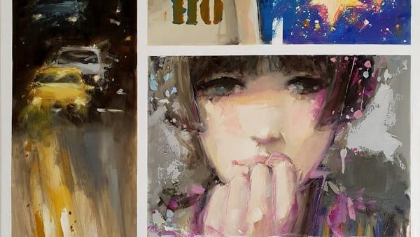 """""""A chi sa attendere"""", mostra di pittura diGiuliano Trombini"""