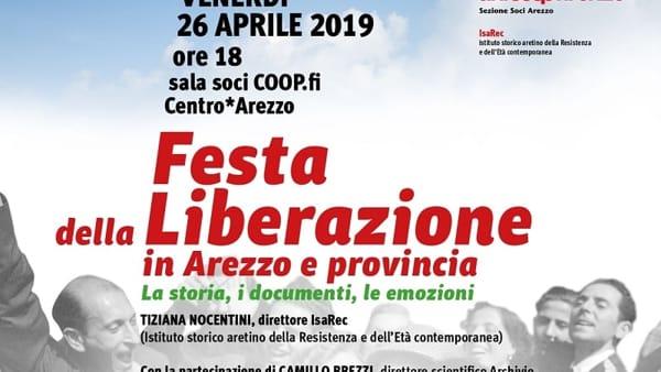 Festa della Liberazione in Arezzo e provincia