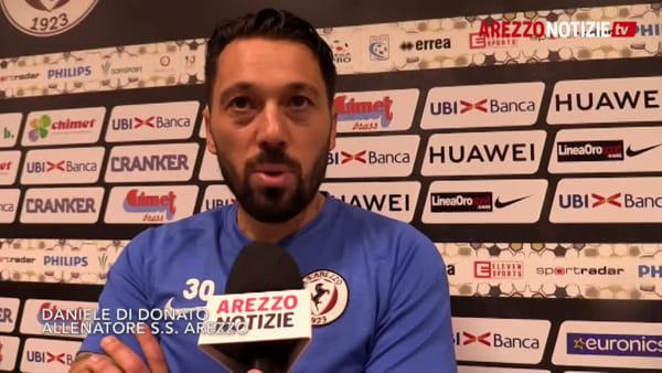"""Verso  Siena-Arezzo, Di Donato: """"Con le buone o con le cattive dobbiamo fare risultato"""""""