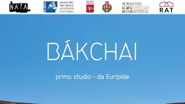 """""""Bachai"""" primo studio da Le Baccanti di Euripide"""