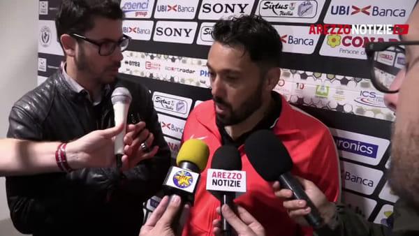 """Arezzo-Monza 0-4, Di Donato: """"Chiedo scusa a tutti"""""""