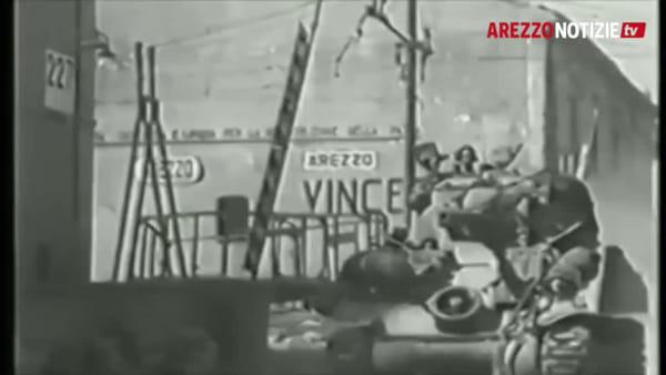 L'Arezzo liberata. Storie, stragi e lacrime di una terra intera, così il ricordo di quel 16 luglio 1944