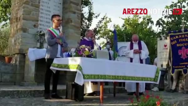 11 luglio 1944: Castiglion Fibocchi rende omaggio alle vittime della strage de La Fontanaccia